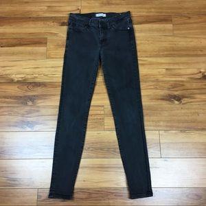 Madewell Black Skinny Skinny Jeans Size 27